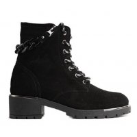Smart Cronos Leather Suede Boots